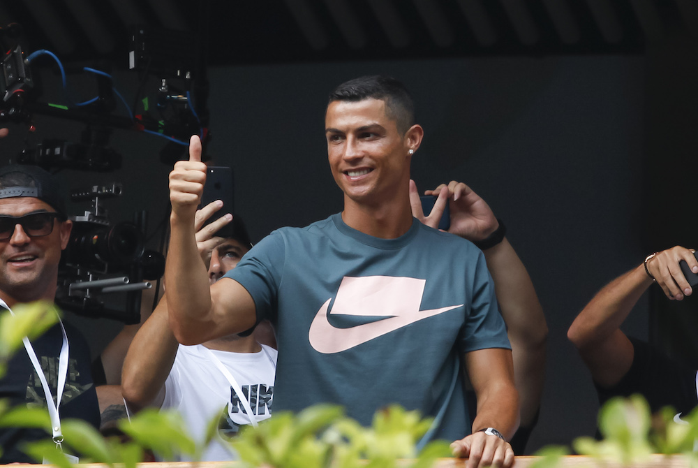 size 40 ac5db 967df Ronaldo drives record Juve shirt sales | www.sportindustry.biz