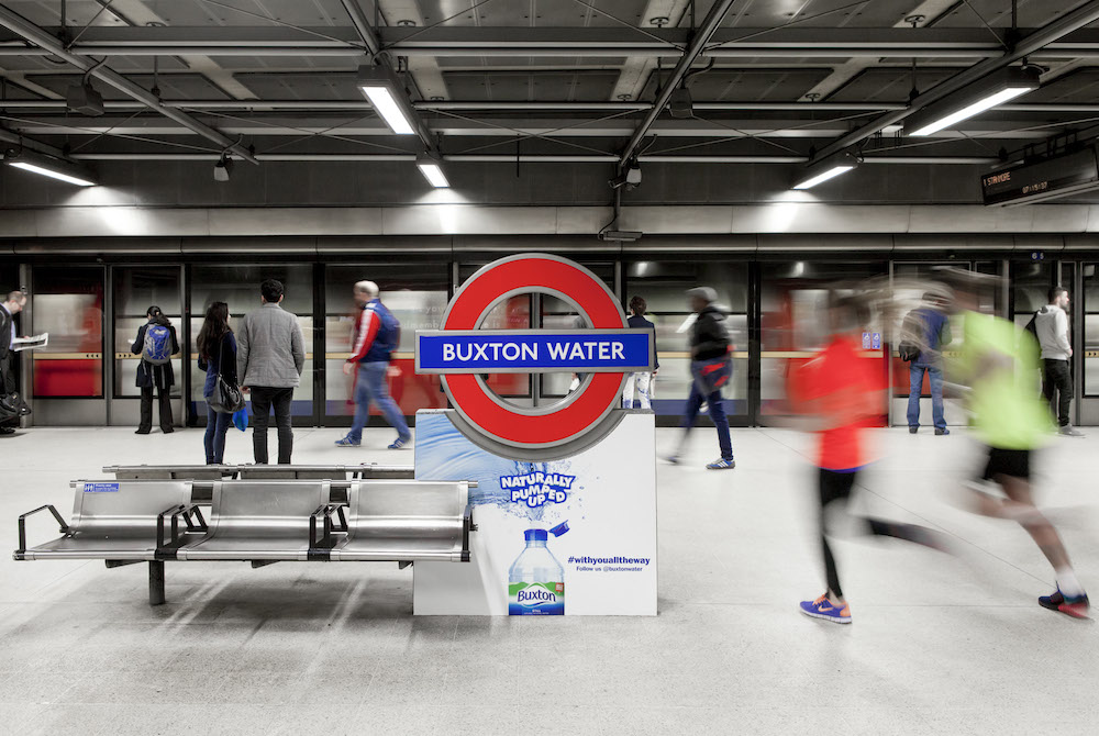 Canada Water station renamed for Marathon