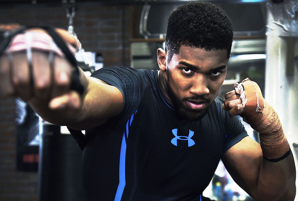 87ff0e076c7 Under Armour signs Anthony Joshua
