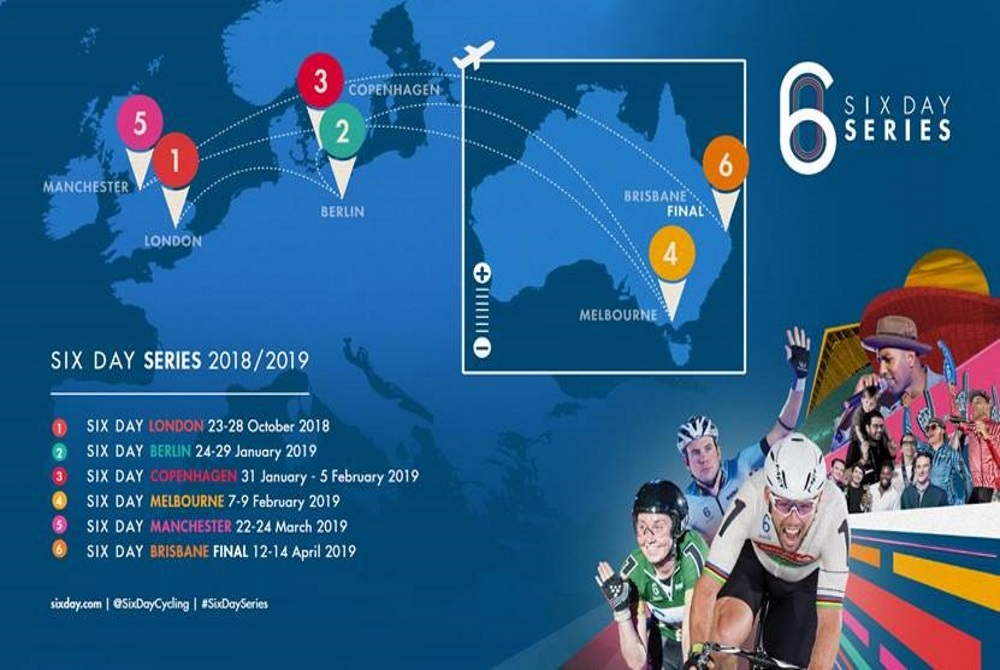 Six Day Series announces new global events | www